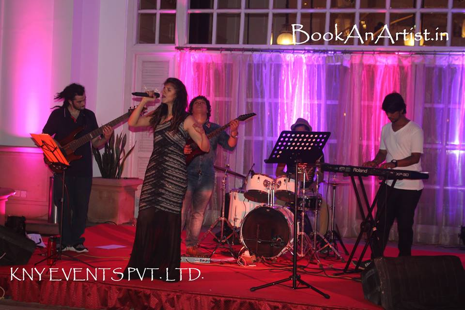 live music band for wedding