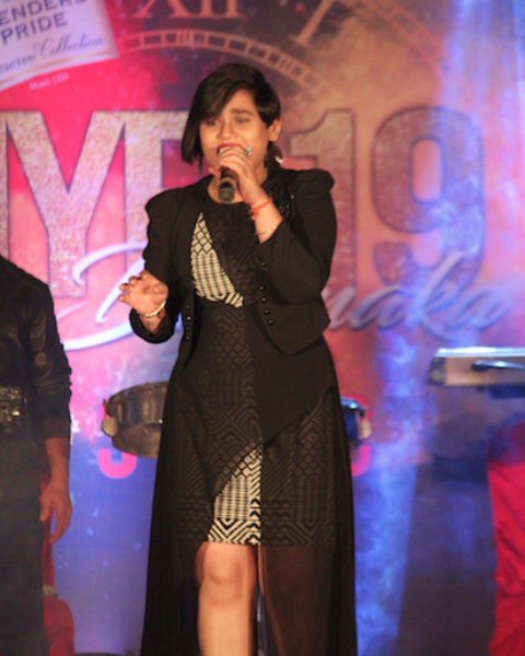 Live performance by amrita